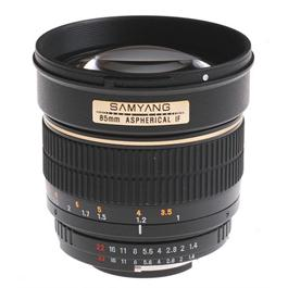 Samyang 85mm f/1.4 IF MC Asph - Nikon Fit thumbnail