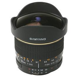 Samyang 8mm f/3.5 Asph IF MC Fisheye CS II DH - Nikon Fit thumbnail