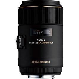 Sigma 105mm f/2.8 EX DG OS HSM Macro Lens - Canon Fit thumbnail