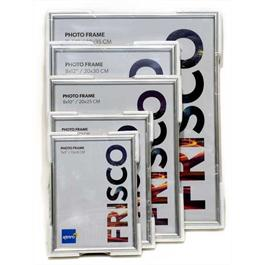 "Kenro A4 (210 x 297mm / 8.27 x 11.7"") Frisco Photo Frame - Silver thumbnail"