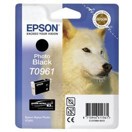 Epson Husky Black Ink T0961 for R2880 thumbnail