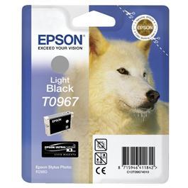 Epson Husky Light Black Ink T0967 for R2880 thumbnail
