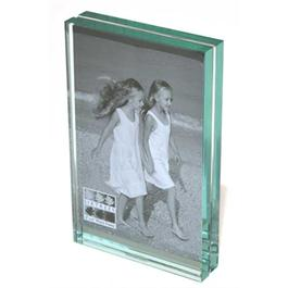 "Swains 6 x 4"" (15 x 10cm) Heavy Level Glass Vertical Photo Frame thumbnail"