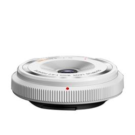 Olympus 9mm f8 Fisheye Body Cap Lens - White thumbnail