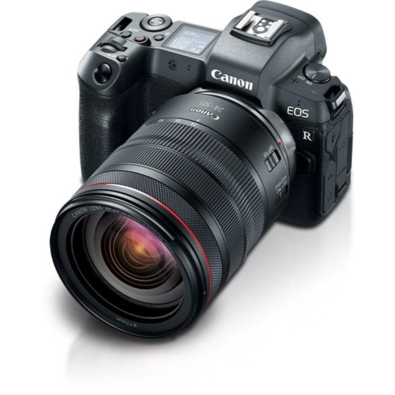 Canon EOS R 24-105mm kit Mirrorless Camera f/4L IS Lens ...