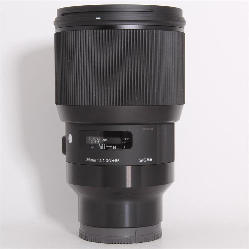 Sigma 85mm f/1.4 DG HSM Art Lens for Nikon F - 321955