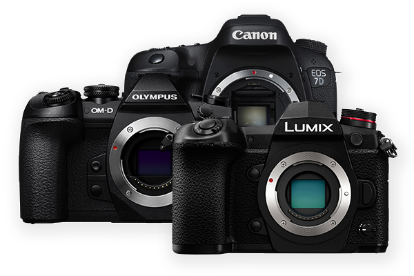 Save up to £500 on Cameras