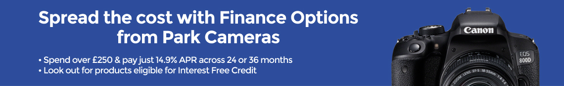 Camera and Lens finance offers at Park Cameras