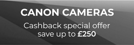Canon Camera cashback')