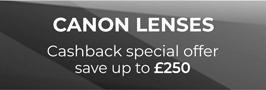 Canon Lenses cashback')
