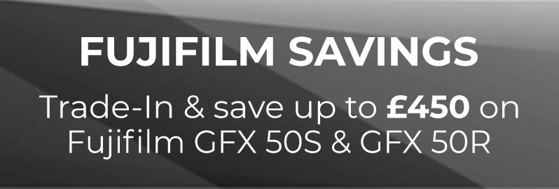 Fuji GFX £450 saving')