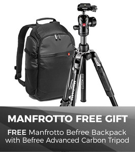 Free Manfrotto Bag gift