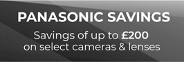 Panasonic savings lens and camera')