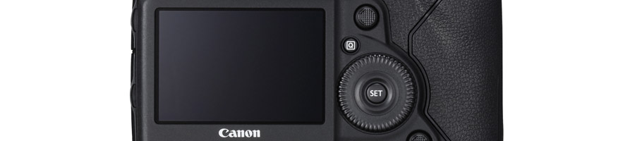 Canon EOS-1DX Mark II touchscreen LCD monitor